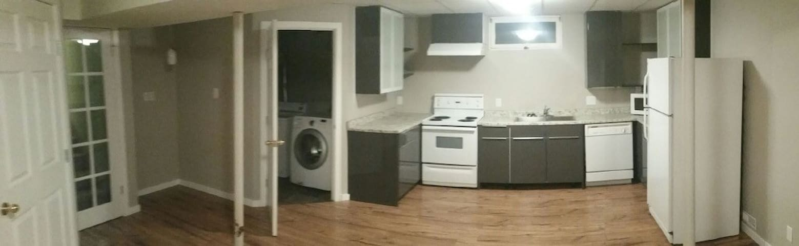 One bedroom with private kitchen - Calgary - Talo