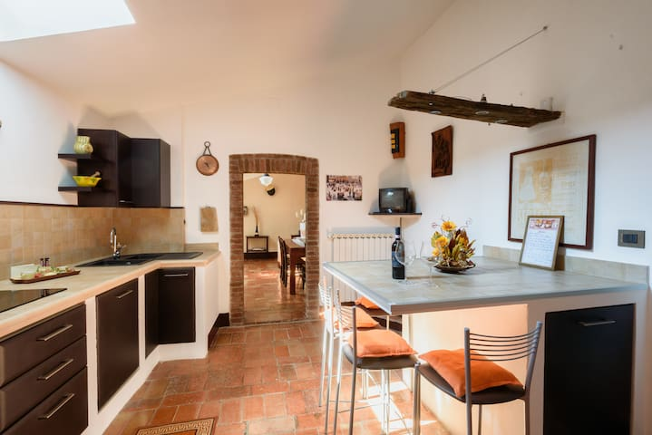 Charming loft in Piazza Grande - Montepulciano - Podkroví