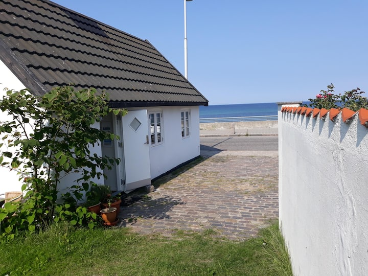 Holiday home only 20 m from the sea in Rågeleje.