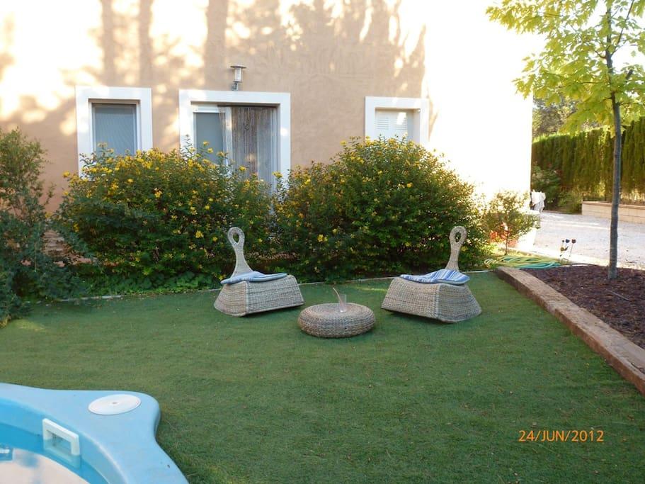 Chalet en alcoy con piscina y barbacoa chalets en for Camping con piscina climatizada en comunidad valenciana
