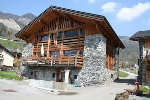 Ski or summer in the alps Verbier valley 3 bedroom