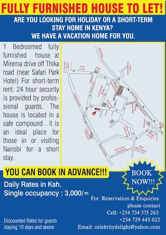 FULLY FURNISHED HOUSE TO LET! - Nairobi - Haus