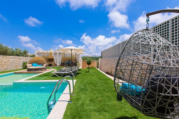 Blue Mare, New Cretan Luxury Villa! - Rethymno