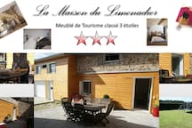 Le Limonadier ( Meublé classé 3 étoiles )