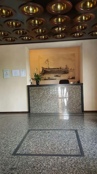 Reception entrata