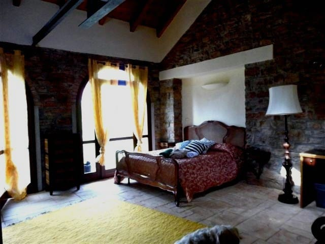 Tre notti in appartamento con parco - Genovabubbio  - Bed & Breakfast