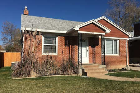 Charming home minutes from skiing/downtown/WSU - Ogden - Hus