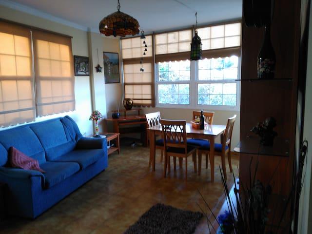 Bello y equipado apartamento con terraza, La Palma