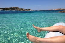 Or visit the turquoise lagoon of the archipelago di Budelli