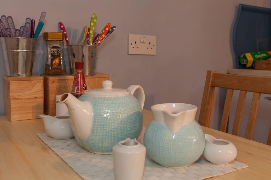 Tea & Coffee available...