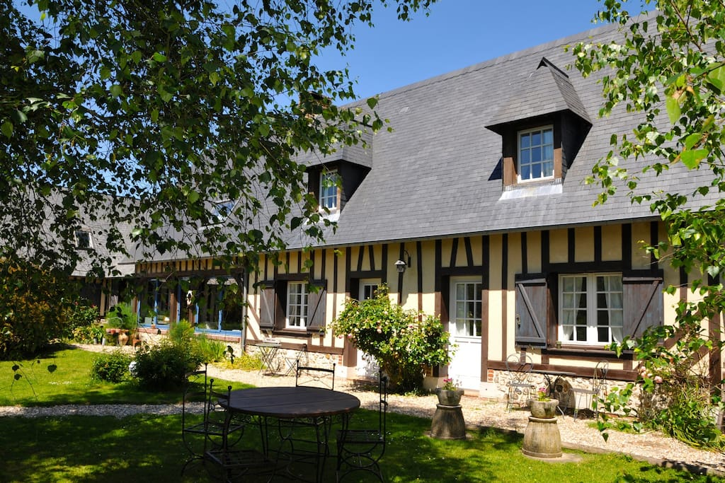 Chambres d 39 h tes 4 leboisdespierres bed breakfasts for for Chambre d hote haute normandie