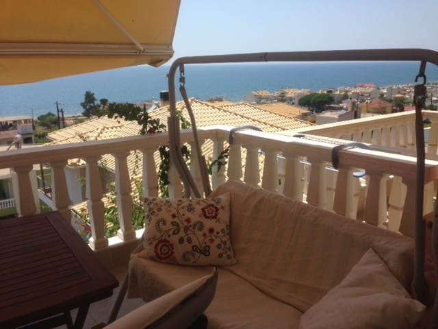 Cozy Sea-view maisonette by the Ionian Sea