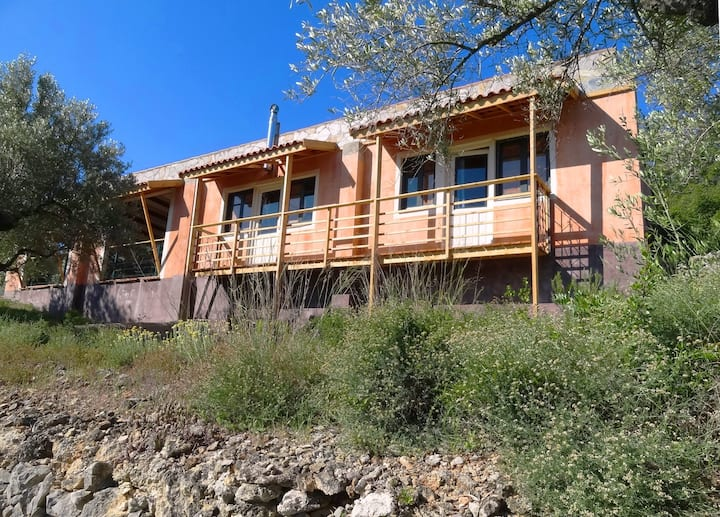 Can Drago-spacious house with large terrace & pool
