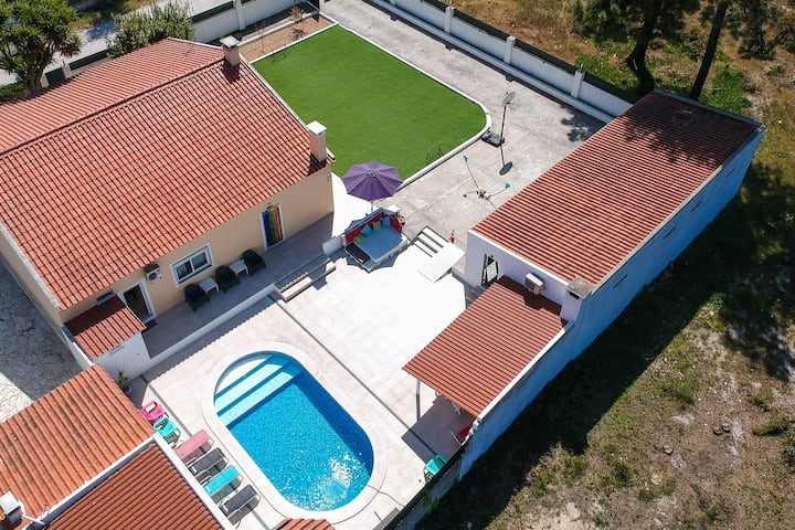 Villa T4 35m from Lisbon and 20m from Setúbal