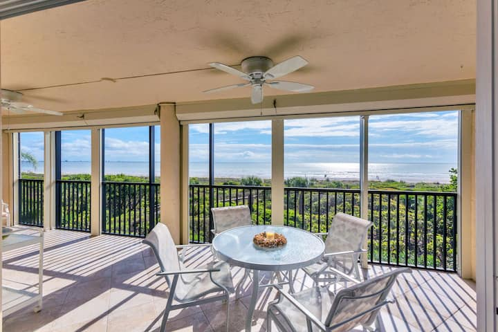Direct Gulf Front 3 bedroom modern meets coastal condo Spring Savings!