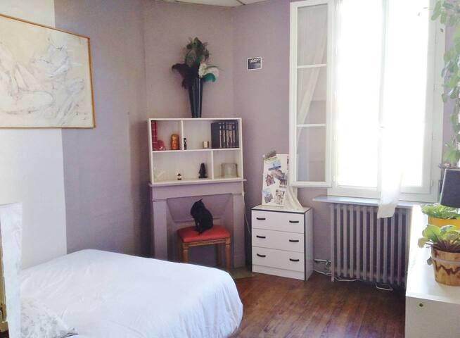 Magnifique chambre dans échoppe bordelaise typique