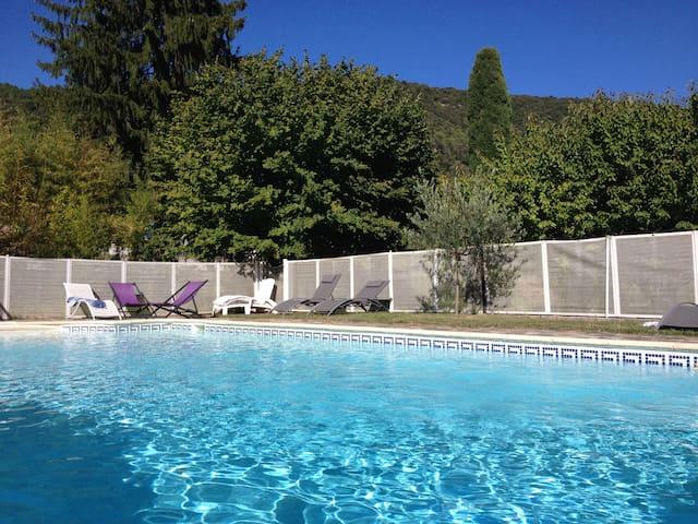 Charming BnB Ardèche-Cévennes - Bessèges - Aamiaismajoitus