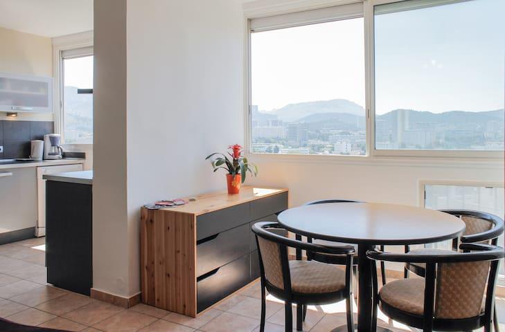 15°floor-3rooms-panoramic view - Marsella - Pis