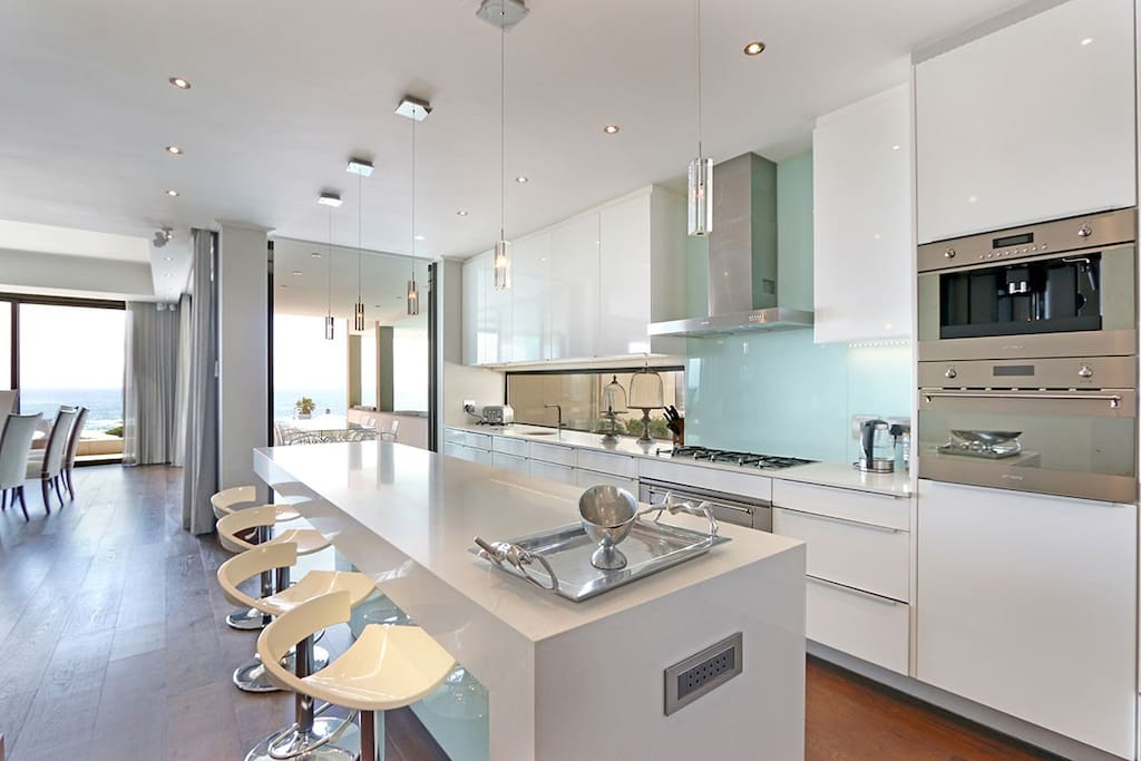 Modern Kitchen with top appliances for your entertaining needs