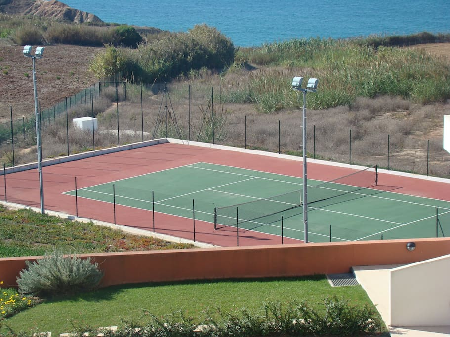 Tennis Court for the exclusive use of the guests - tennis racquets and balls supplied