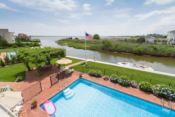 Hampton Waterfront Suite - Amazing Balcony Views - Westhampton - Hus