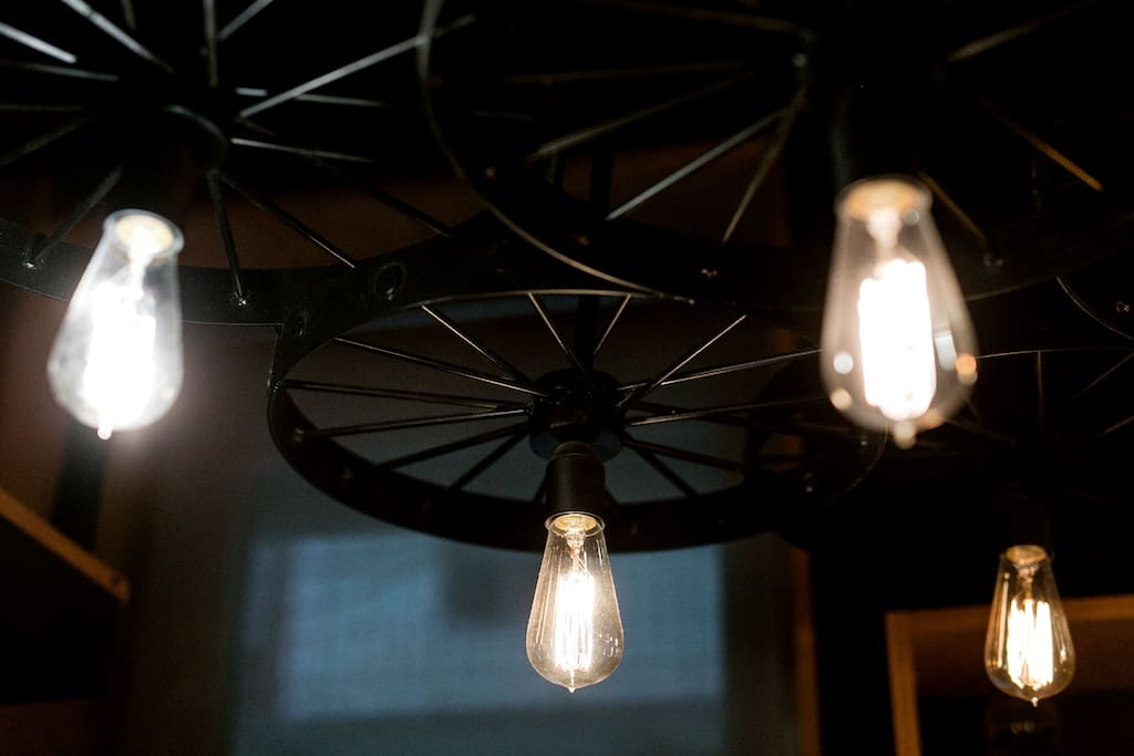 Industrial Edison lightbulbs