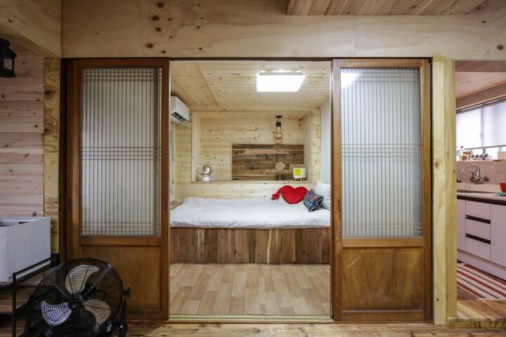 근동이네 별채- 삼나무 침대방
