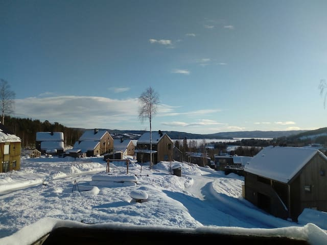 Beautiful nature in Hurdal ecovillage