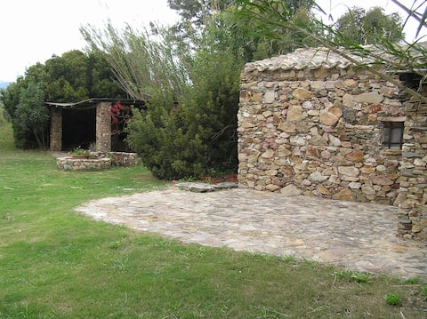 Tuerredda, house in the landscape