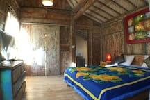 secret wooden cabin in jimbaran