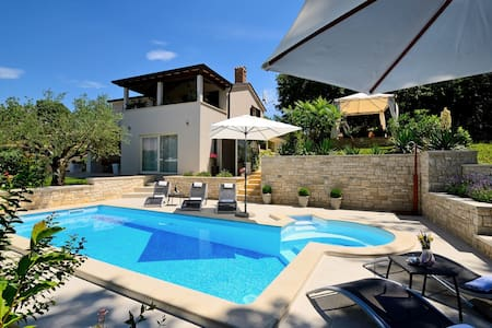 Modern Villa Vidova with Pool - Tinjan