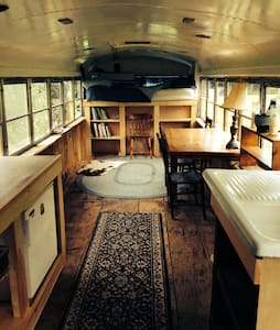 Comfy Renovated School Bus - Brattleboro