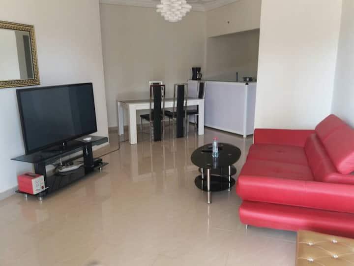 Appartement F3 meublé dans une villa privée