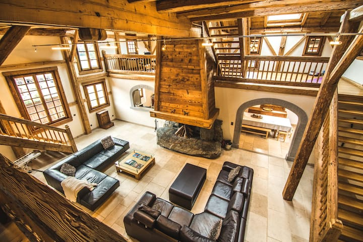 Chalet Forest - Luxueuse Ferme - 12 pers