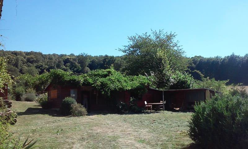 Chalet2 près du lac de Vassiviere - Saint-Julien-le-Petit - Hytte (i sveitsisk stil)
