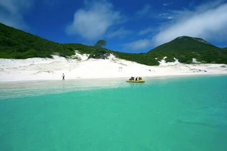 Arraial do Cabo Prainha pé na areia