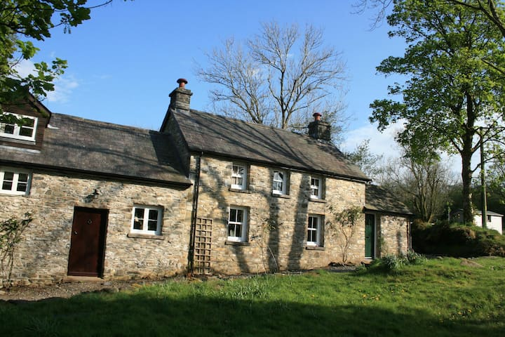 Traditional Welsh cottage and barn conversion