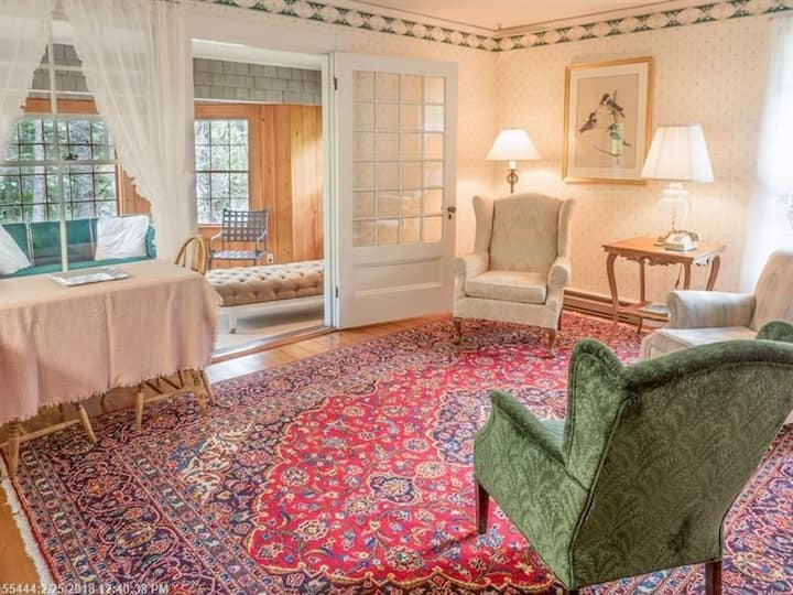 Spacious Suite in an 1889 Inn on Mt. Desert Island