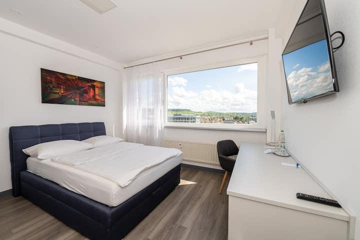 City Apartemen mit Ausblick