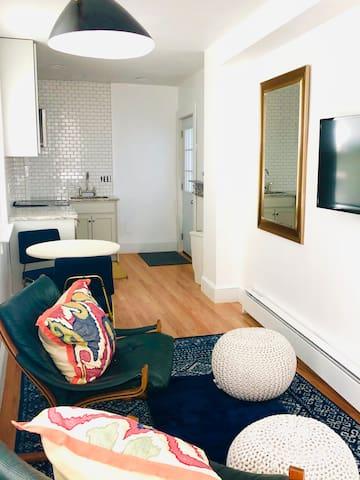 Tucked away luxury apartment