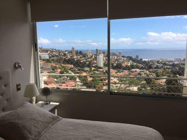 Espectacular Departamento en Jardín del Mar Reñaca - Renaca - Appartement