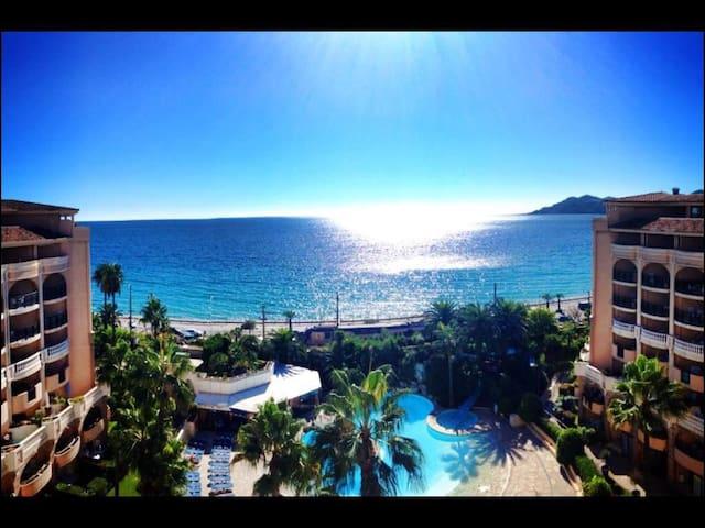 Vue mer magnifique dernier etage - Cannes - Departamento