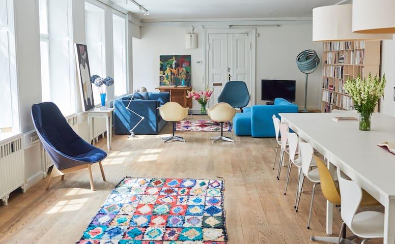 250 m2 Epic design gem in Copenhagen city center
