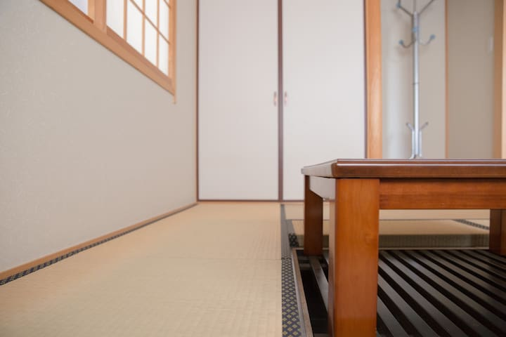Relax with Private tatami-room in osaka!