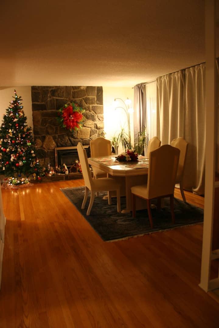 Master bedroom in Bungalow in Green Area.