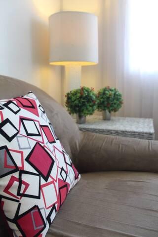 Living room details   Detalhes da sala de estar