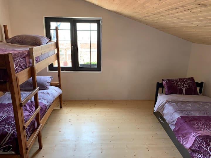 Gostivar Hostel - Tivko Katce - Single Bed in Mixed Dormitory Room