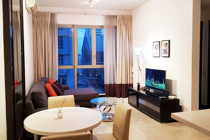 Stylish Service Residence 2mins walk to KLCC