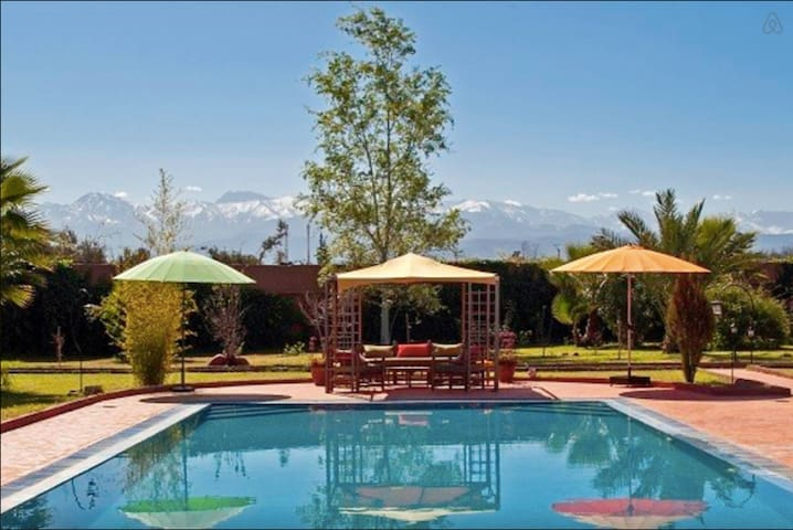 Kasbah d'Issyl - La chambre verte - Marrakesh - Bed & Breakfast
