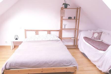 Chambres à un étage privatif chez Julie.